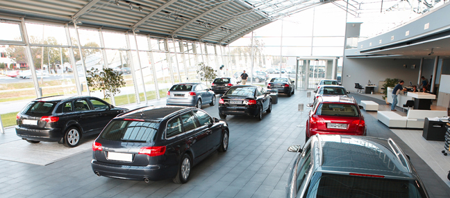Cleaning Car Dealerships and Auto Showrooms